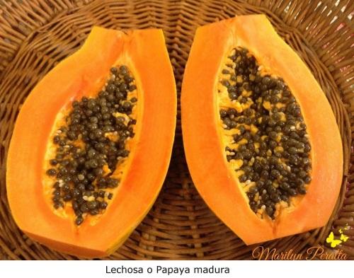 Lechosa o Papaya madura