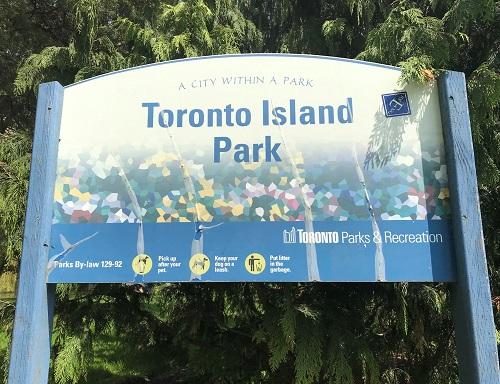 Toronto Island Park, Lago Ontario, 1